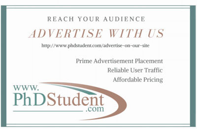 advertise with phdstudent.com