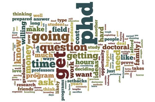 10 Questions to Ask Yourself before Deciding to Get a PhD